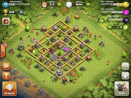 Clash Of Clans Maps Clash Of Clans Bases Layouts Th 8
