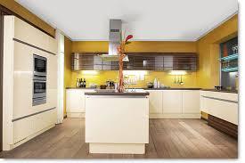 cuisine innovante cuisine polymère bois brillant cuisines actuelles cuisine