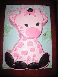 giraffe baby shower cake baby shower cakes fresh baby shower cakes for a girl