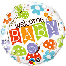 local balloon delivery stamford welcome baby 18 foil balloon delivery stamford my