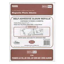 pioneer magnetic photo album pioneer rlm refill pages for lm100 magnetic album rlm