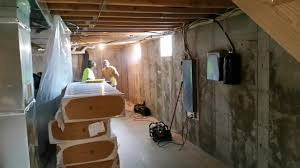 crawl space repair contractor in princeton il dry basement