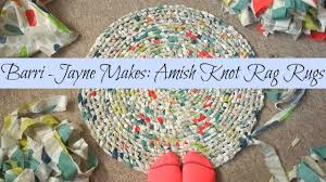 How To Rag Rug How To Make A Round Amish Knot Toothbrush Rag Rug Tutorial