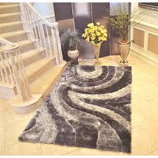 3d Area Rugs Everrouge 3d Grey Area Rug 8 X 10 8 X 10 Free Shipping