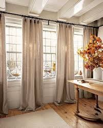 Width Of Curtains For Windows Window Treatment Really Idea Splitting It In 2 Pair Of