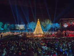 Singing Christmas Tree Lights National Christmas Tree Lighting Hallmark Channel