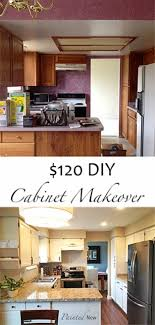 oak kitchen cabinet makeover ideas 37 simple diy kitchen makeover ideas