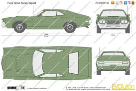 Ford Gran Torino Price The Blueprints Com Vector Drawing Ford Gran Torino Sport