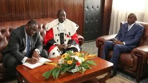 si e du conseil constitutionnel sénégal loi sur le parrainage le conseil constitutionnel botte en