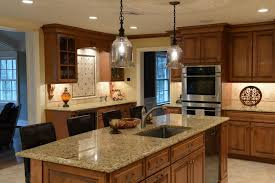 mocha maple kitchen cabinet kitchen traditional with beige wall