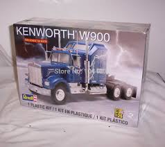 kenworth canadiense revell modelo modelos militares escala 1 25 85 1507 kenworth w900