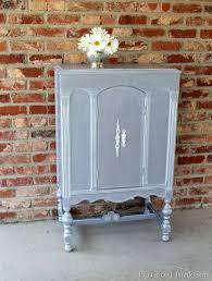 martha stewart precious metals painted silver cabinet petticoat