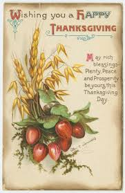 wishing you a happy thanksgiving postcard by hattie