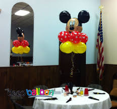 mickey mouse center pieces balloon decorations balloon decorations in new jersey balloon