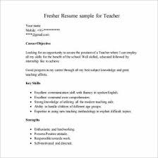 Resumes For Teaching Jobs by Resume Templates For Teaching Jobs Resume Sample