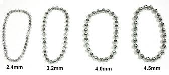 steel ball necklace images Ball chain bead chain chain end steel chain jpg