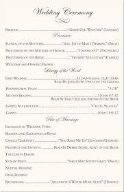 catholic wedding readings catholic wedding ceremony program template i like the you raise me