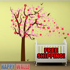Decoration Baby Nursery Wall Decals by Wall Decal Cherry Blossom Tree Nursery Kids Babys Room Sticker