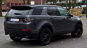 custom 2016 land rover file land rover discovery sport td4 hse black paket u2013 heckansicht