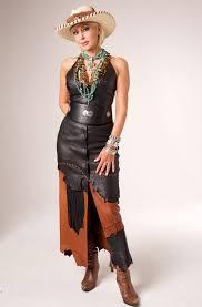 westernwomenwear com handmade one of a kind deer skin long skirt