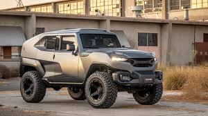 rhino xt jeep the rezvani tank would get you through the zombie apocalypse just