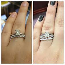 infinity wedding band which infinity band looks better help weddingbee