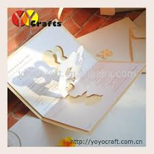 3d wedding invitations pop005 wholesale 3d pop up card 3d wedding invitation card buy
