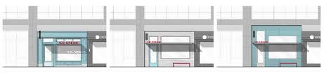 Ice Cream Shop Floor Plan Molly Moon U0027s Storefront Study Hoshide Wanzer Architects