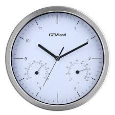 wall clock temperature humidity photo u2013 wall clocks