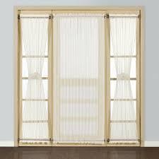 amazon com united curtain batiste semi sheer door curtain panel