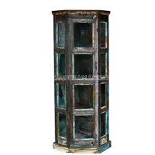 reclaimed wood curio cabinet curio cabinet mango wood curio cabinet