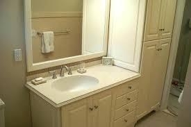bathroom vanity and linen cabinet combo impressive bathroom vanity linen cabinet combo vanity with linen