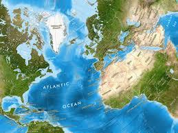 Mercator World Map by World Satellite Image Giclee Print Enhanced Physical Oblique