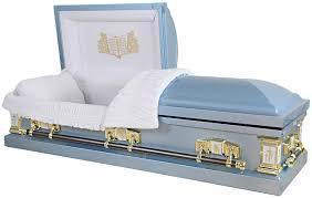 blue casket premium steel caskets colliers affordable caskets