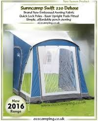 New Caravan Awnings 2016 Sunncamp Caravan Awnings