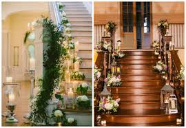 outstanding floral decoration ideas for stairs stylishmods com