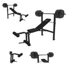 Weight Set Bench Press Trojan Contender 320 Bench Set Makro Online Home Gym