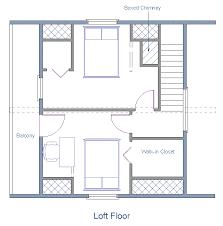 cabin floor plans loft floor plan 24x20 sqft cottage b