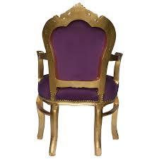 Esszimmer Sessel G Stig Designerstühle Esszimmer Stuhlsessel Barock Sti Violetter Goldener