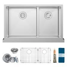 low divide stainless steel sink zuhne riga 36 inch stainless steel kitchen sink under mount