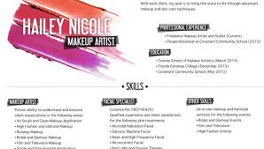 how to get a makeup artist license brilliant ideas of freelance makeup artist resume sle template