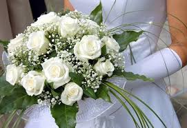 wedding flowers roses winter white roses bridal bouquet wedding bouquets photo gallery