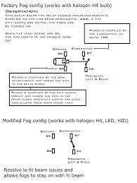 vwvortex com perfected mk4 led headlight conversion with oe fogs