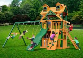home swing set paradise