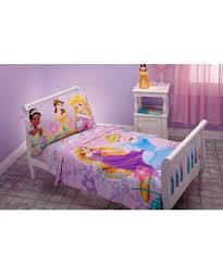 amazon com disney princess 4 piece toddler bedding set