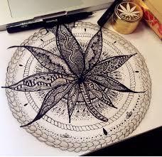 marijuana leaf designed zentangle arts drawings
