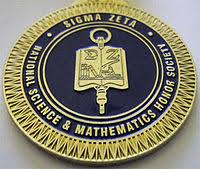 graduation medallion sigma zeta