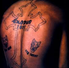 cross on forearm tupac u0027s tattoos what is the meaning of 2pac u0027s tattoos u0026 photos