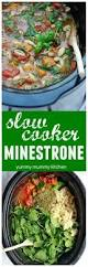 Ina Garten Slow Cooker Slow Cooker Minestrone Soup Yummy Mummy Kitchen A Vibrant