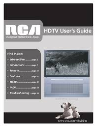 rca remote manual download free pdf for rca r52wh74 tv manual